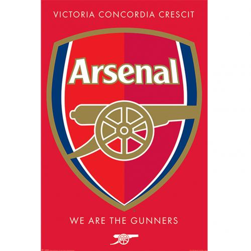 Arsenal F.C. Poster Crest 36