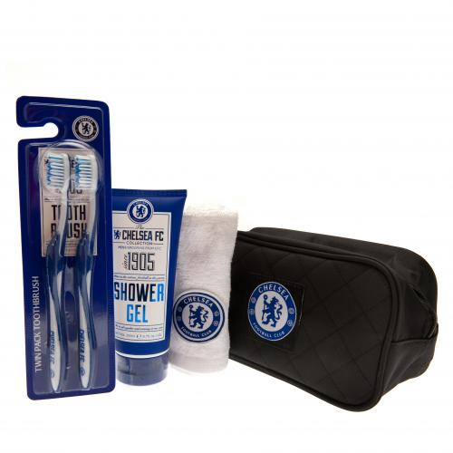 Chelsea F.C. Toiletries Bag Gift Set