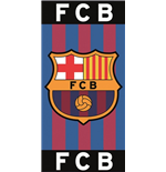 Barcelona FC printed towel BAR2