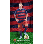 Barcelona FC printed towel BAR183