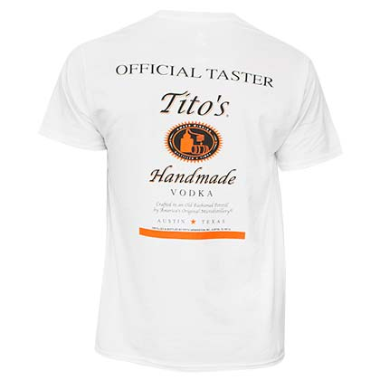 TITO'S VODKA Taster Tee Shirt