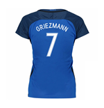 2016-17 France Womans Home Shirt (Griezmann 7)