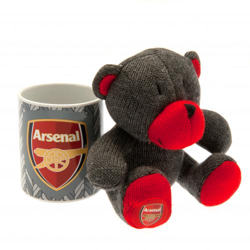 Arsenal F.C. Mug & Bear Set