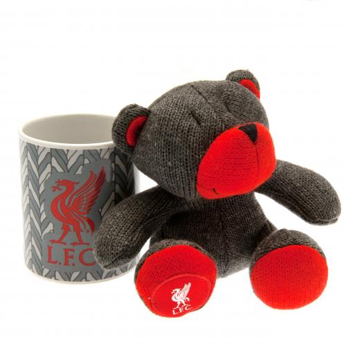 Liverpool F.C. Mug & Bear Set