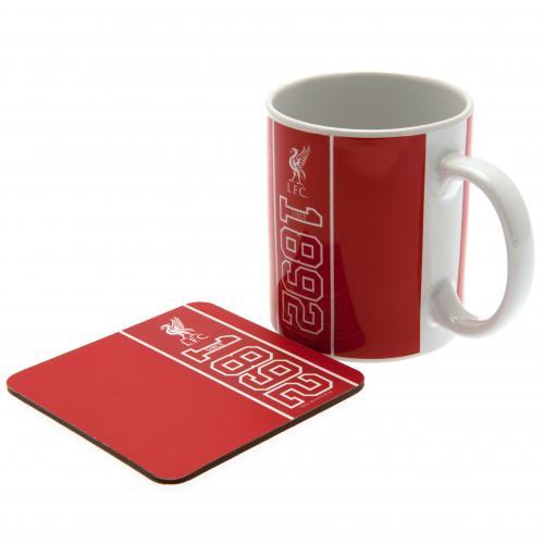Liverpool F.C. Mug & Coaster Set