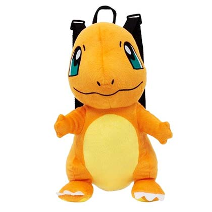 POKEMON Charmander Plush Backpack