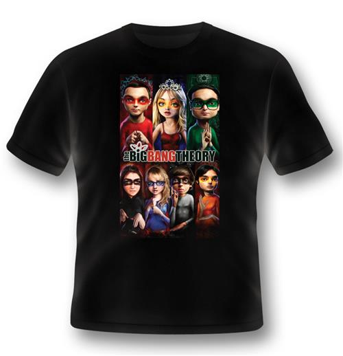 Big Bang Theory T-shirt Superhero