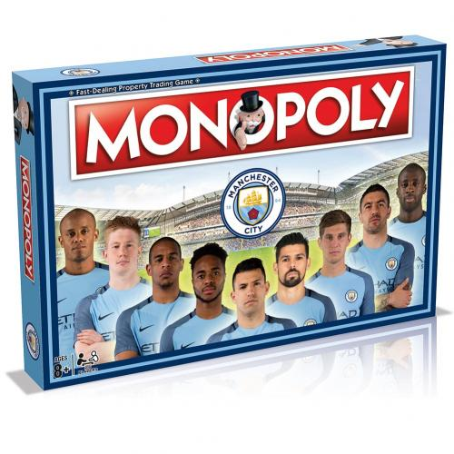 Manchester City F.C. Edition Monopoly