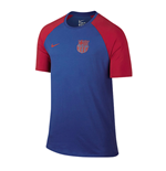 2016-2017 Barcelona Nike Match Tee (Royal)