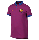 2016-2017 Barcelona Nike Authentic Polo Shirt (Game Royal) - Kids