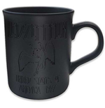 Led Zeppelin - Boxed Black Matt Mug: 77 Tour