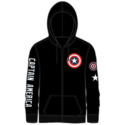 CAPTAIN AMERICA Zip Up Hoodie
