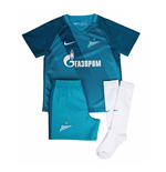 2016-2017 Zenit Home Nike Little Boys Mini Kit