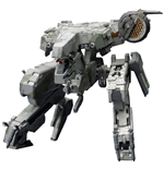 Metal Gear Solid 4 Plastic Model Kit 1/100 Metal Gear Rex MGS 4 Version 22 cm