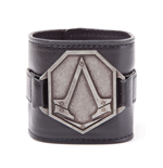 Assassin's Creed Syndicate - PU Wristband with Metal Logo Patch