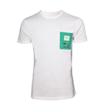 Adventure Time - T-Shirt White, printed chestpocket