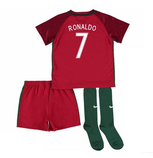 hot sale online 259d8 a6172 2016-17 Portugal Home Mini Kit (Ronaldo 7)