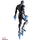 Marvel Comics Variant Play Arts Kai Action Figure Iron Man Limited Color Ver. heo EU Exclusive 27 cm