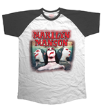 Marilyn Manson Men's Raglan Tee: Sweet Dreams