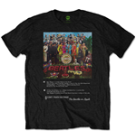 The Beatles Men's Tee: Sgt Pepper 8 Track
