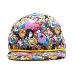 Adventure Time - All Over Print Snap Back cap