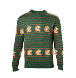 The Legend of Zelda Sweater Link Christmas green