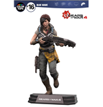 Gears of War 4 Color Tops Action Figure Kait Diaz 18 cm