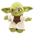 Star Wars Plush Figure Yoda 17 cm