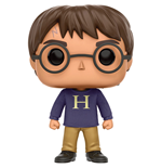 Harry Potter POP! Movies Vinyl Figure Harry Potter (Sweater) 9 cm