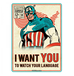 Captain America Sign 247036