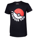 Pokémon T-shirt - I Choose You Black