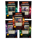 Magic the Gathering Commander (2016) Decks Display (5) italian