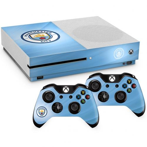 Manchester City F.C. Xbox One S Skin Bundle