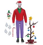 Batman The Animated Series Action Figure Christmas with The Joker 15 cm