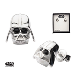 Star Wars Earrings Darth Vader Sterling Silver)
