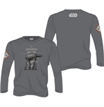 Star Wars Rogue One Long Sleeve AT-AT Walker grey