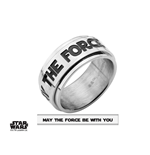 Star Wars Spinner Ring MAY THE FORCE BE WITH YOU