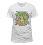 Teenage Mutant Ninja Turtles - Group - Unisex T-shirt White