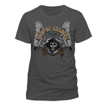 Sons Of Anarchy - Winged Logo - Unisex T-shirt Grey