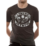 Lynyrd Skynyrd - Biker Patch - Unisex T-shirt Grey