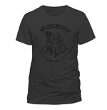 Harry Potter - Distressed Hogwarts - Unisex T-shirt Grey