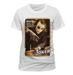 Batman - Joker Poster - Unisex T-shirt White