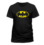 Batman - Distressed Logo - Unisex T-shirt Black