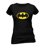 Batman - Logo - Women Fitted T-shirt Black