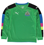 2016-2017 Newcastle Home Goalkeeper Shirt (Kids)