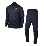 2016-2017 AS Roma Nike Woven Tracksuit (Obsidian)