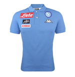 2016-2017 Napoli Cotton Polo Shirt (Sky Blue)