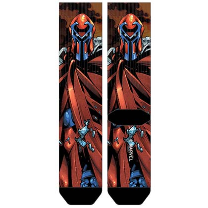 X-MEN Magneto Sublimated Men's Crew Socks