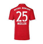 2016-17 Bayern Home Shirt (Muller 25)