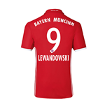2016-17 Bayern Home Shirt (Lewandowski 9) - Kids